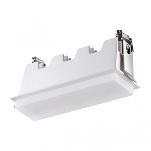 358240 NT19 083 белый Встраиваемый светильник IP20 LED 10W 85-265V HIELO