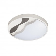 4500/72CL LN 20 белый, серый Н/п светильник с пультом LED 2*36W 3000-6000K 2920Лм 220V NALU