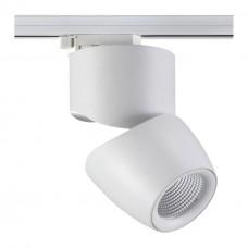357867 NT18 057 белый Трековый светильник IP20 LED 3000К 25W 220-240V ZEUS