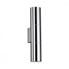 4281/2WA HIGHTECH ODL22 163 хром/металл Настенный светильник IP44 LED E27 max 2*7W BAZEL