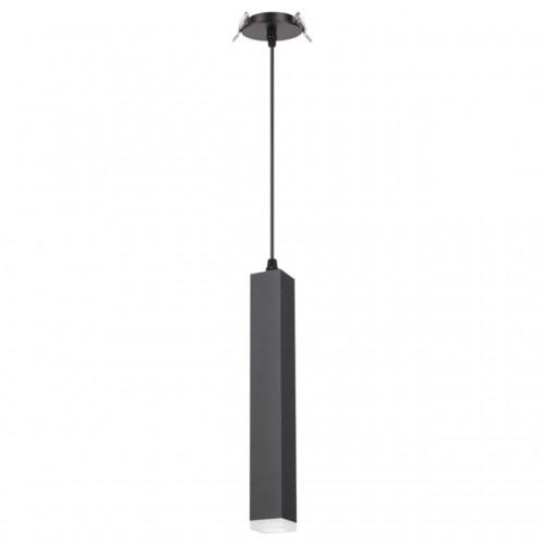 357897 NT19 069 черный Встраиваемый светильник IP20 LED 3000K 12W 160-265V MODO