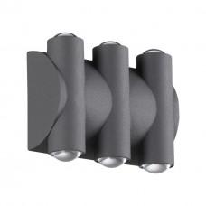 358567 STREET NT21 000 темно-серый Ландшафтный настенный светильник IP54 LED 4000K 6W 85-265V CALLE