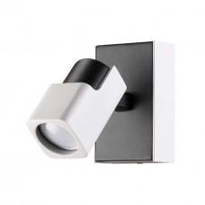 3491/1W ODL18 097 белый с черным Настенный светильник IP20 GU10 1* 50W 220V DARAVIS