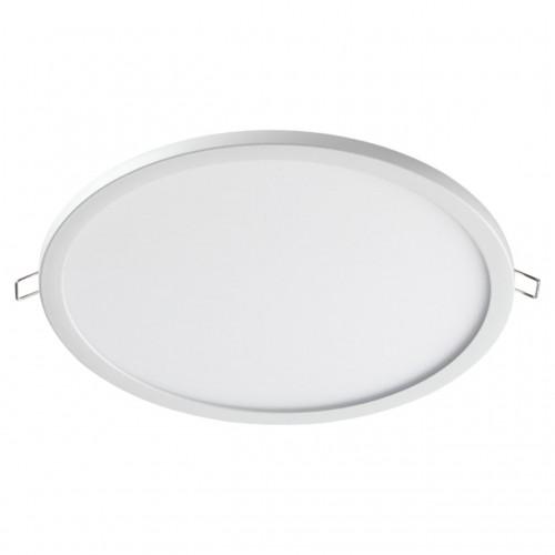 358270 NT19 000 белый Встраиваемый светильник IP20 LED 4000K 24W 85-265V STEA