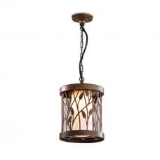 2287/1 ODL12 714 патина коричневый Уличный светильник-подвес IP44 E27 100W 220V LAGRA
