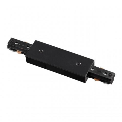 135005 NT18 015 черный Соединитель с токопроводом для однофазного шинопровода IP20 220V