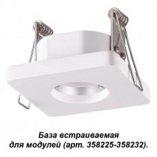 358217 NT19 036 белый База встраиваемая для модулей с 358225-358232 IP20 OKO