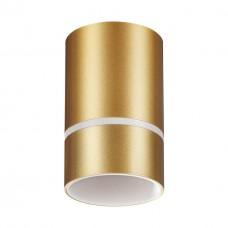 370734 OVER NT21 000 золото Светильник накладной IP20 GU10 9W 235V ELINA