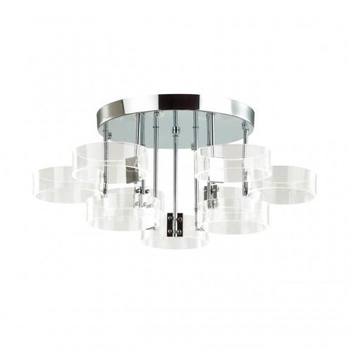 4496/72CL LEDIO LN20 хром Люстра потолочная LED 72W 4000K 6120 lm 220V HUDSON