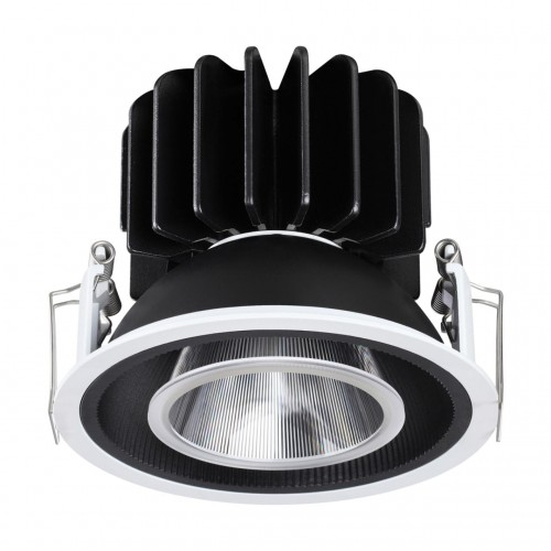 358514 SPOT NT21 000 черный Светильник встраиваемый светодиодный IP20 LED 4000К 30W 220V BIND