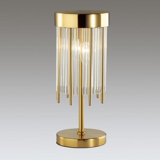 4788/2T ODL21 323 золото/металл/стекло Наст.лампа E14 2*40W YORK