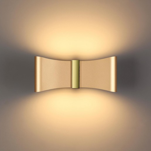 4216/12WL HIGHTECH ODL21 золотис/золо/металл Настенный светильник IP20 LED 12W 478Лм 3000K MOTION