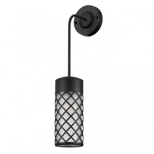 4834/1W NATURE ODL21 567 черный/стекло Ландшафтный настенный светильник E27 1*60W IP44 DUNES