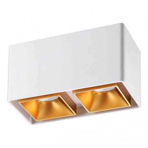 358490 OVER NT20 000 белый/золото Светильник накладной IP20 LED 4000K 20W 220V RECTE