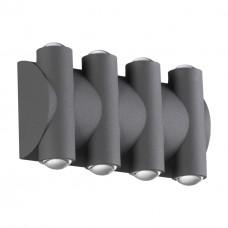 358568 STREET NT21 000 темно-серый Ландшафтный настенный светильник IP54 LED 4000K 8W 85-265V CALLE