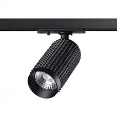 358495 PORT NT21 000 черный Однофазный трековый светодиодный светильник IP20 LED 4000K 12W 220V MAIS LED