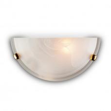 053 золото SN 111 бра DUNA стекло E27 1*100Вт 300х150