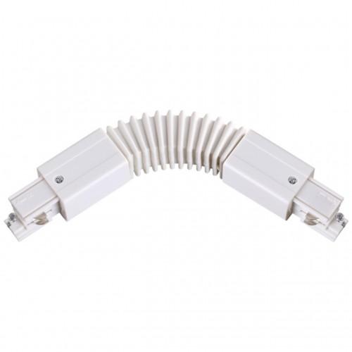 135066 NT19 013 белый Соединитель гибкий с токопроводом для трехфазного шинопровода IP20 220V
