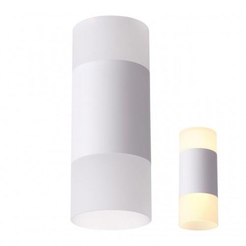 358318 NT19 000 белый Светильник накладной IP20 LED 4000K 7W вниз + 3W вверх 220-240V ELINА
