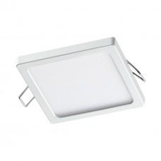 358271 NT19 000 белый Встраиваемый светильник IP20 LED 4000K 8W 85-265V STEA