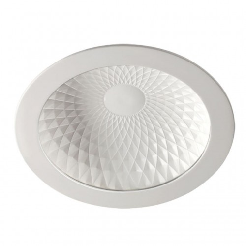 357497 NT18 141 белый Встраиваемый светильник IP20 LED 3000K 9W 85-265V GESSO
