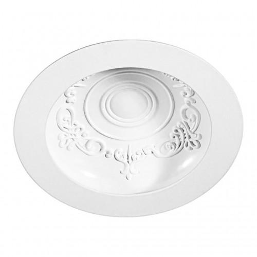 357355 NT17 141 белый Встраиваемый светильник IP20 LED 3000K 7W 85-265V GESSO