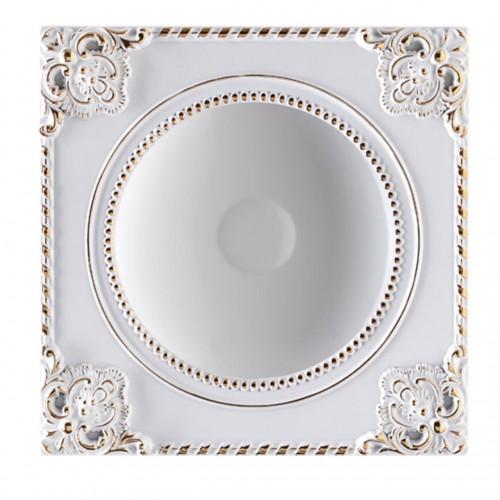 357616 NT18 141 белый/золото Встраиваемый светильник IP20 LED 3000K 18W 85-265V NOVEL