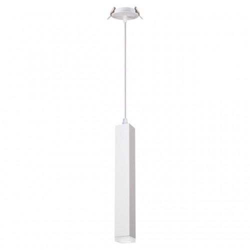 357898 NT19 069 белый Встраиваемый светильник IP20 LED 3000K 12W 160-265V MODO