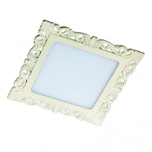 357285 NT16 141 белый Встраиваемый светильник IP20 LED 3000K 12W 220-240V PEILI