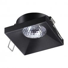370741 SPOT NT21 000 черный Светильник встраиваемый IP20 GU10 50W 220V METIS