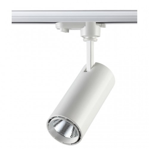 357547 NT18 094 белый Трековый светильник IP20 LED 4000K 15W 160-265V SELENE