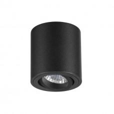3568/1C ODL18 187 черный Потолочный накладной светильник IP20 GU10 1*50W 220V TUBORINO