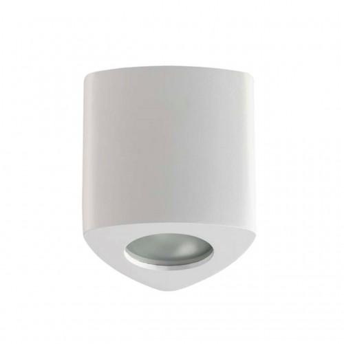 3574/1C ODL18 189 белый Потолочный накладной светильник IP44 GU10 1*50W 220V AQUANA