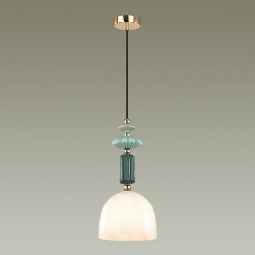 4861/1C CLASSIC ODL_EX21 золото/раноцветн./керамика/стекло Подвес E14 1*40W CANDY