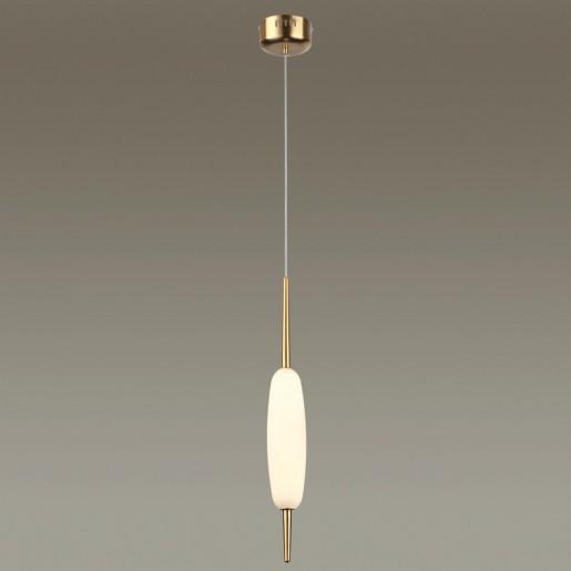 4792/12L PENDANT ODL21 008 бронзовый/белый Подвес LED 12W SPINDLE