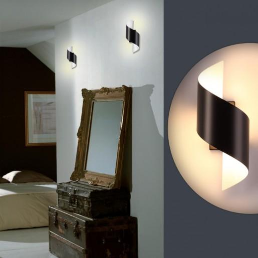 3542/5LW ODL18 155 черный Настенный светильник LED 5W 3000K 400Лм 220V BOCCOLO
