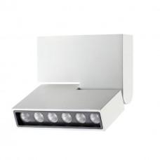357538 NT18 060 белый Накладной светильник IP20 LED 3000K 6W 110-240V EOS