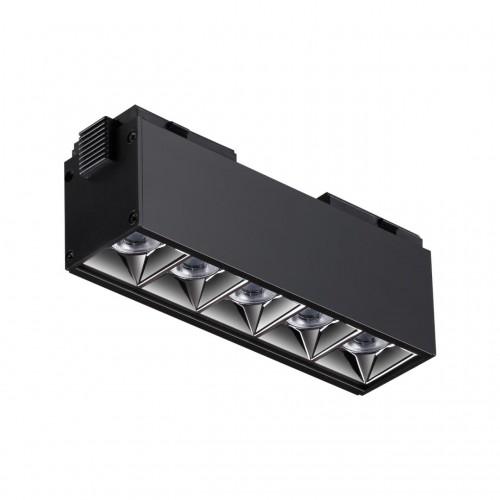 358523 SHINO NT21 000 черный Трековый светильник для низковольного шинопровода IP20 LED 4000K 10W 48V KIT