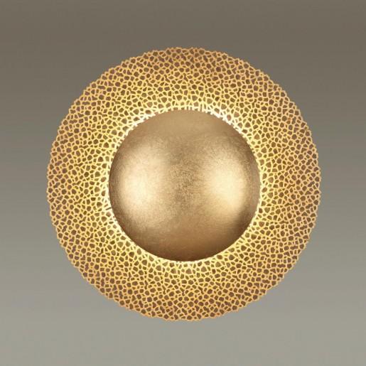 3559/24L ODL18 167 золотое фольгирование Н/п светильник IP20 LED 3000K 24W 1920Лм 220V SOLARIO