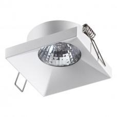 370742 SPOT NT21 000 белый Светильник встраиваемый IP20 GU10 50W 220V METIS