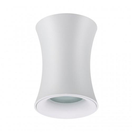 4271/1C HIGHTECH ODL21 103 белый/металл Потолочный светильник IP44 GU10 1*50W ZETTA
