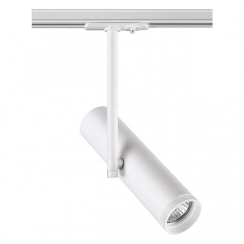 370574 NT19 098 белый Трековый светильник IP20 GU10 50W 220V BATRA