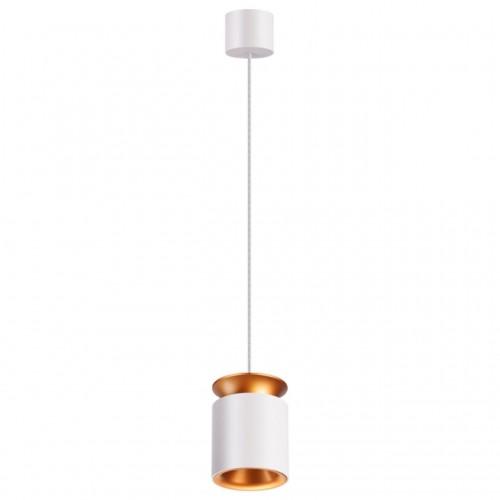 358157 NT19 024 белый/золото Подвесной светильник IP20 LED 3000K 9W 220V ORO