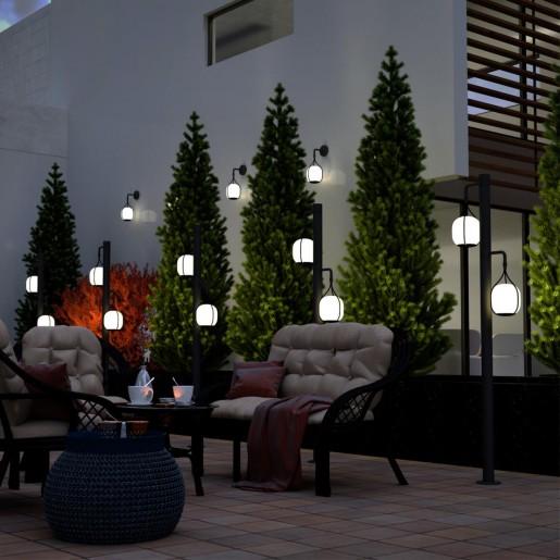 358581 STREET NT21 000 белый Светильник ландшафтный настенный светодиодный IP54 LED 4000K 9W 220-240V ROCA