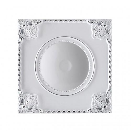 357617 NT18 141 белый/хром Встраиваемый светильник IP20 LED 3000K 7W 85-265V NOVEL