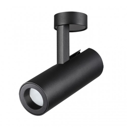 357474 NT18 074 черный Накладной светильник IP20 LED 3000K 12W 100-240V TUBO