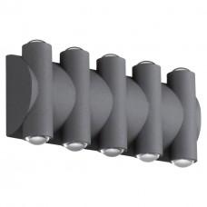 358569 STREET NT21 000 темно-серый Ландшафтный настенный светильник IP54 LED 4000K 10W 85-265V CALLE
