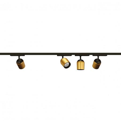 358516 PORT NT21 000 золото Однофазный трековый светодиодный светильник IP20 LED 4000K 25W 220V KAMP