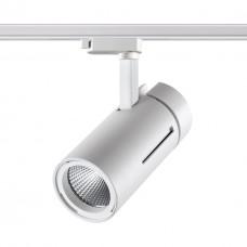 358594 PORT NT21 000 белый Однофазный трековый светильник IP20 LED 4000K 30W 175-245V DEP