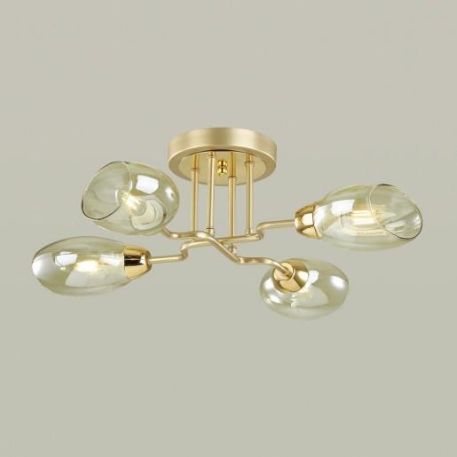 4536/4C MODERNI LN21 178 золото, матовое золото Люстра потолочная E14 4*40W 220V LACIE